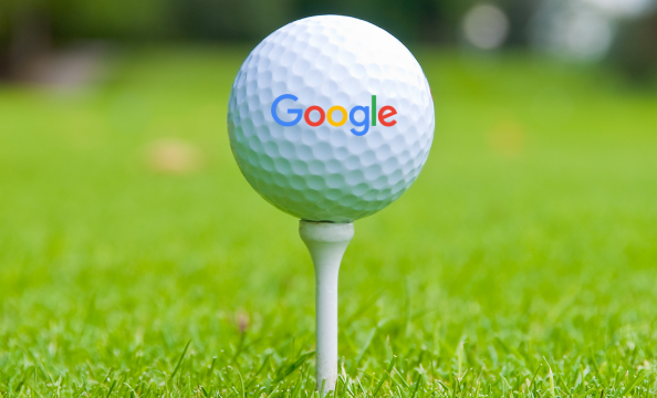 google marketing golf ball