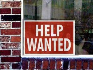 Help Wanted Sales